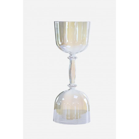 Alliance - Double therapeutic iridescent crystal calice
