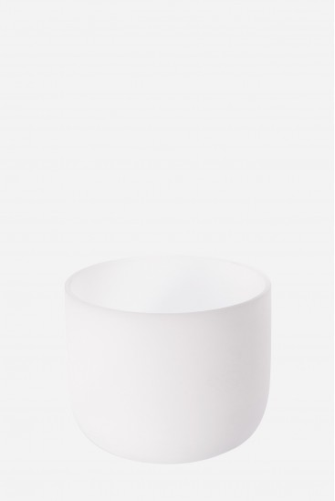 The Immaculed 432 Hz - Frosted Crystal Singing Bowl
