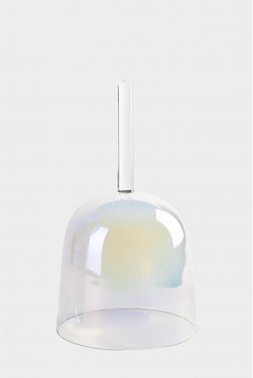 bol de cristal avec manche