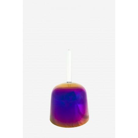 Purple Flame - Practitioner Bowl - Crystal Singing Bowl