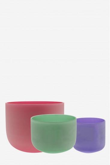 Equilibrium colored Set 432 - Crystal Singing Bowl