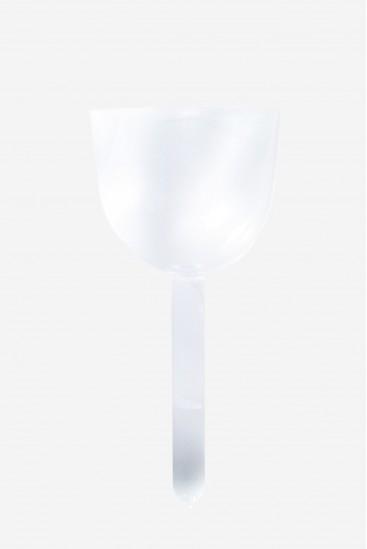 Cristal Celeste - Bol avec Manche - Bol Chantant en Cristal