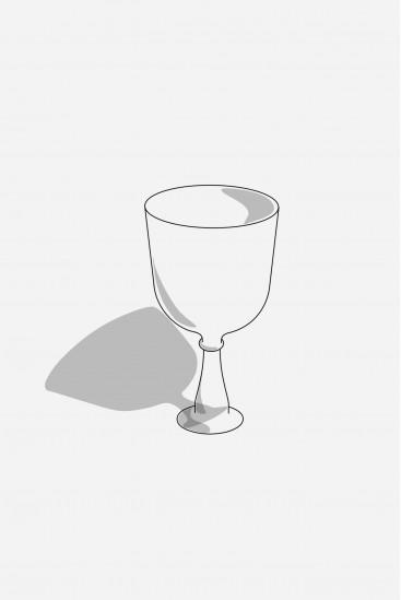 Calice cristal chantant sur mesure