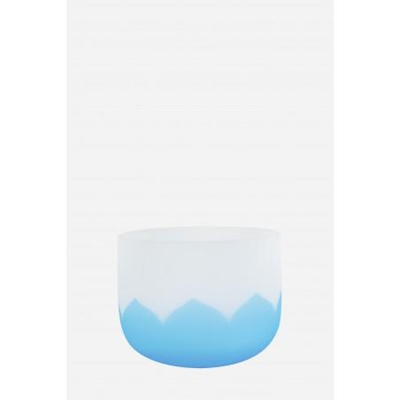 bol de cristal - lotus bleu - Cristal Vibrasons