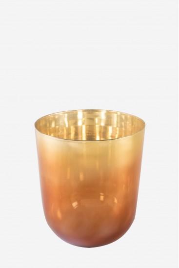 Stellaire - Antares Orange - Bol Chantant en Cristal