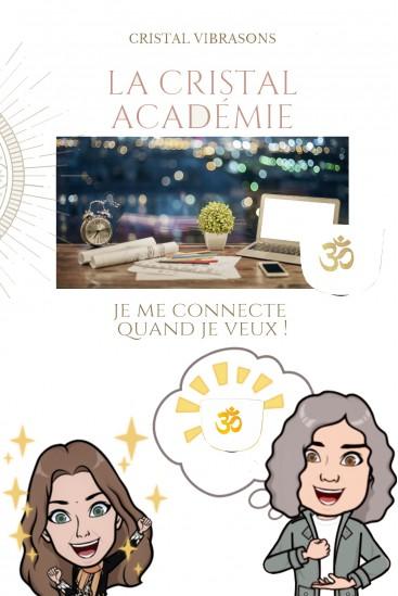PACK 2 E-learning courses - Academy Cristalvibrasons
