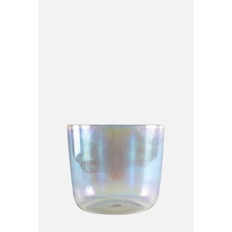 BOUDDHA BOL - irisé - gravé - Bol de cristal
