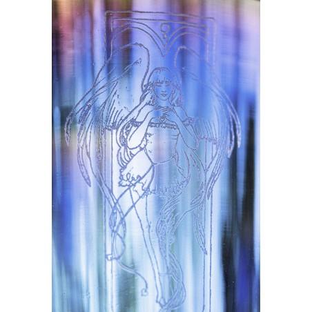 gravure - bol de cristal lumière - Cristal Vibrasons