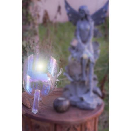 bol de cristal lumière